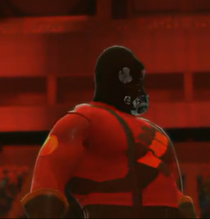 The Pyro depicted using WWE 2K14