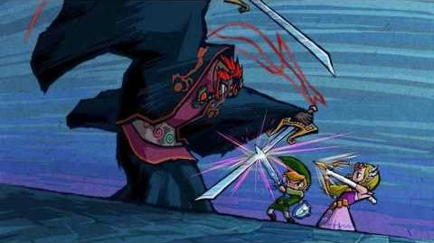 Zelda The Wind Waker - Ganondorf Final Boss Music HD