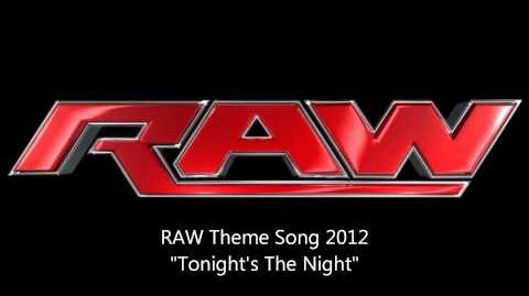 """New WWE Raw Theme 2012 """"Tonight's The Night"""" by Jim Johnston (Download Link) (HD)"""