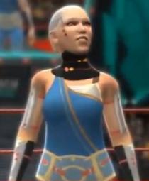 Impa depicted using WWE 2K14