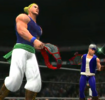 The Returners depicted using WWE '13