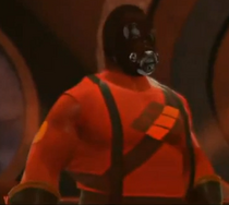 The Pyro depicted using WWE '13