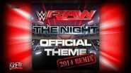 """WWE """"The Night"""" (2014 Remix) iTunes Release by CFO$ ► Monday Night RAW NEW Theme Song-2"""