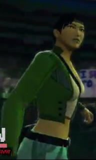 Jade depicted using WWE 2K14