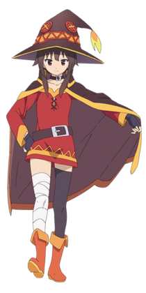 Megumin in reality