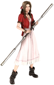 Aerith Gainsborough in reality