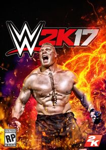 The boxart of WWE 2K17