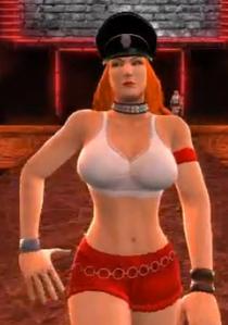 Roxy depicted using WWE 2K14
