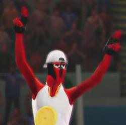 ToeJam depicted using WWE 2K14