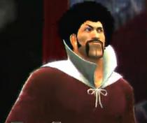 Mr. Satan depicted using WWE 2K14