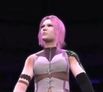 Lightning depicted using WWE 2K14
