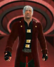 Dante depicted using WWE '13