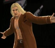 Liquid Snake depicted using WWE 2K14