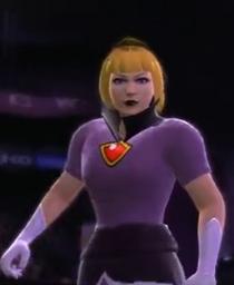 Princess Peach depicted using WWE '13