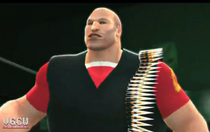 The Heavy depicted using WWE 2K14