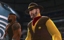 Flint & Barret depicted using WWE 2K14