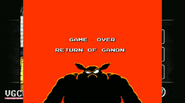 GAME OVER RETURN OF GANON