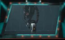 GLaDOS depicted using WWE 2K14