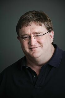 Gabe Newell in reality