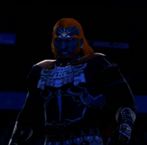 Ganondorf depicted using WWE 2K14