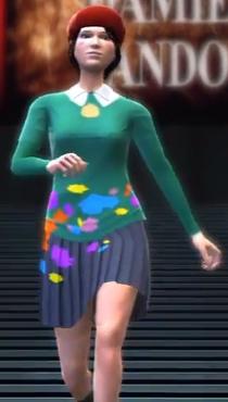 Adeleine depicted using WWE 2K14