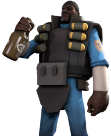 The Demoman in reality
