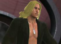 Liquid Snake depicted using WWE '13