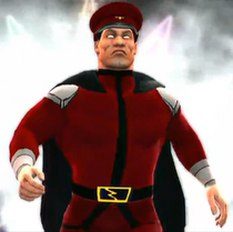 M. Bison depicted using WWE '13