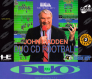 John madden duo cd football