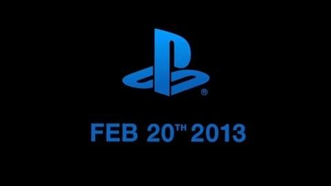 Playstation 4 2013 Conference