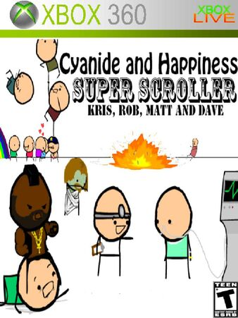 Cyandine and Happiness Super Scroller Xbox 360 Cover.jpg