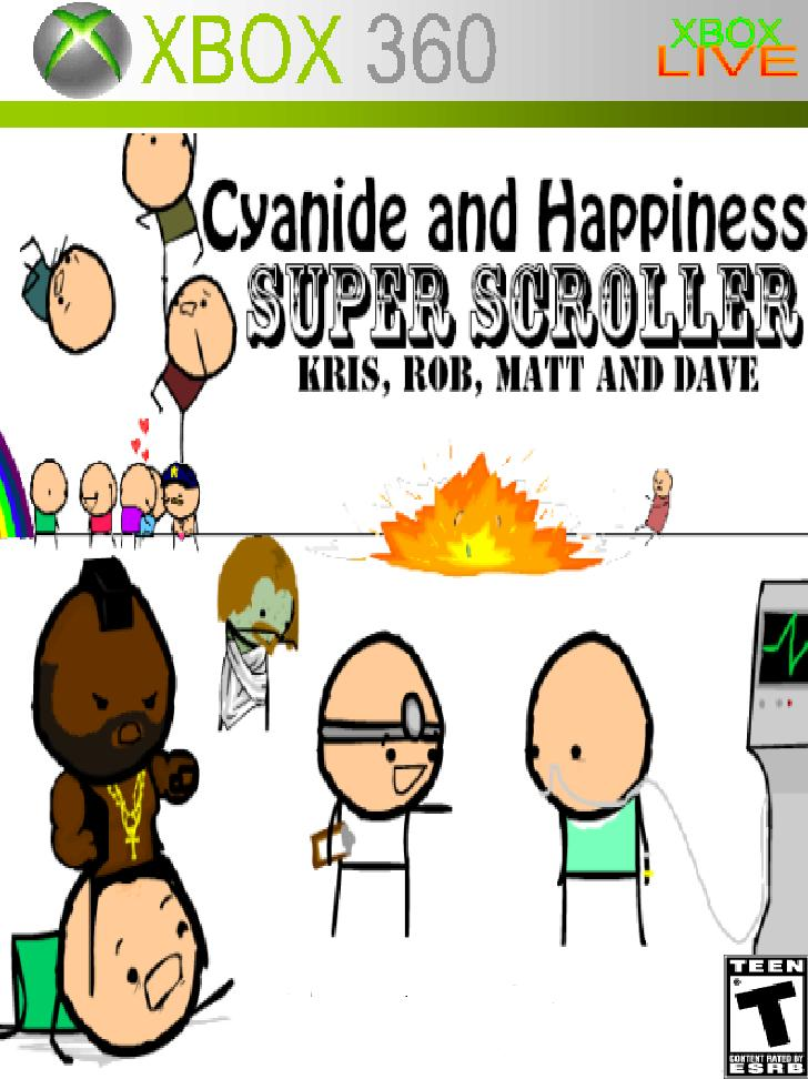 Cyanide and Happiness SUPER SCROLLER