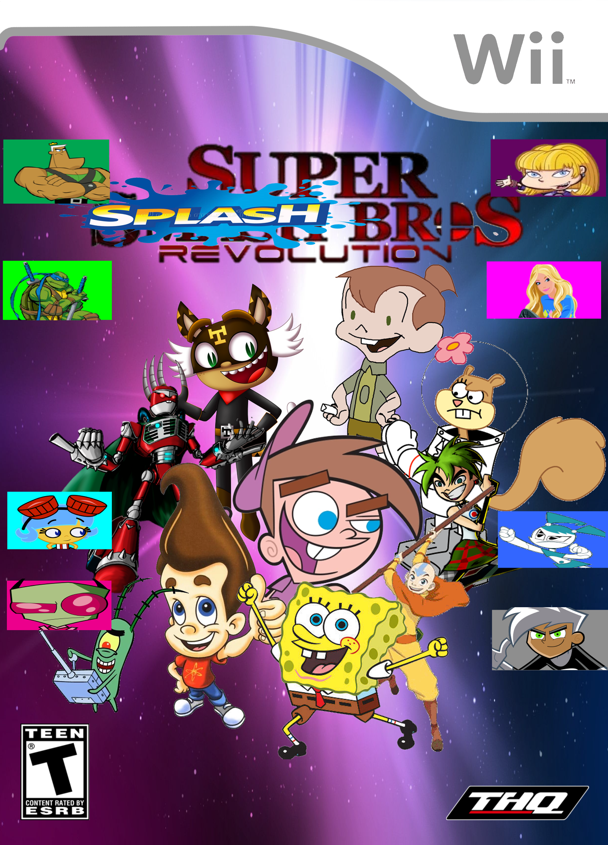 Nicktoons Super Splash Bros. Revolution