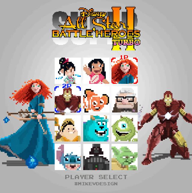 Super Disney All Star Battle Heroes II Turbo