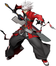 Ragna the Bloodedge (BlazBlue Cross Tag Battle, Character Select Artwork).png