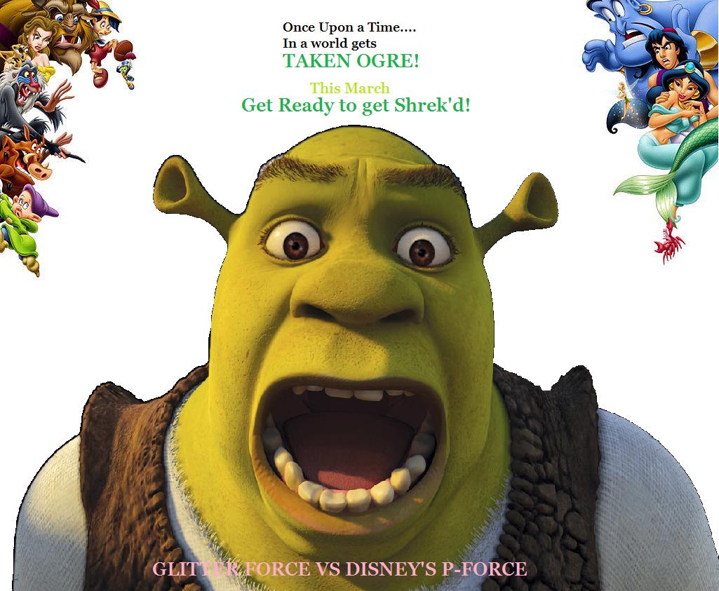 Glitter Force VS Disney's P-Force: Hostile Take-Ogre