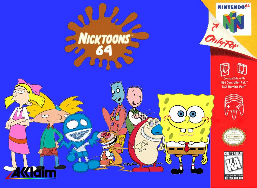 Nicktoons 64