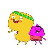 Cupcake and Dino
