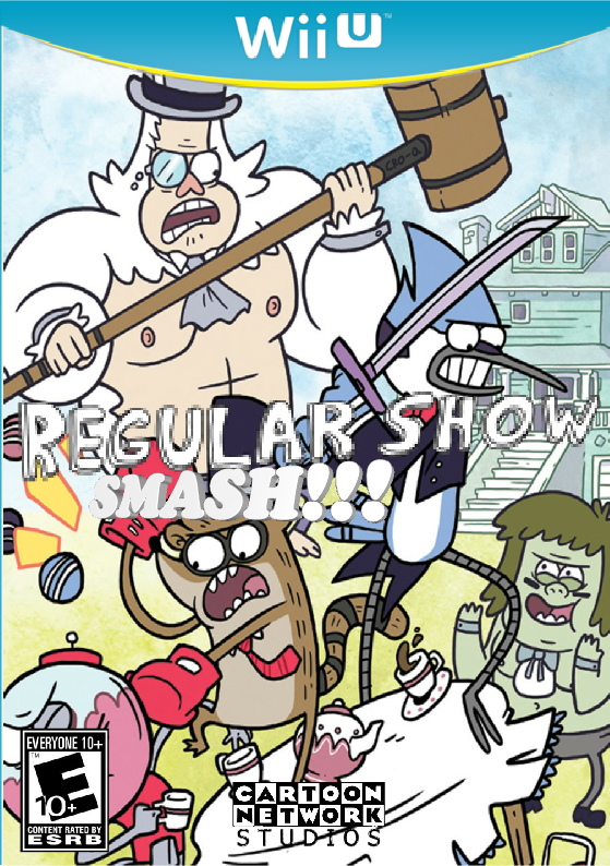 Regular Show SMASH!!!