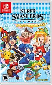 Super smash bros. Ultimate Powered Up boxart.png