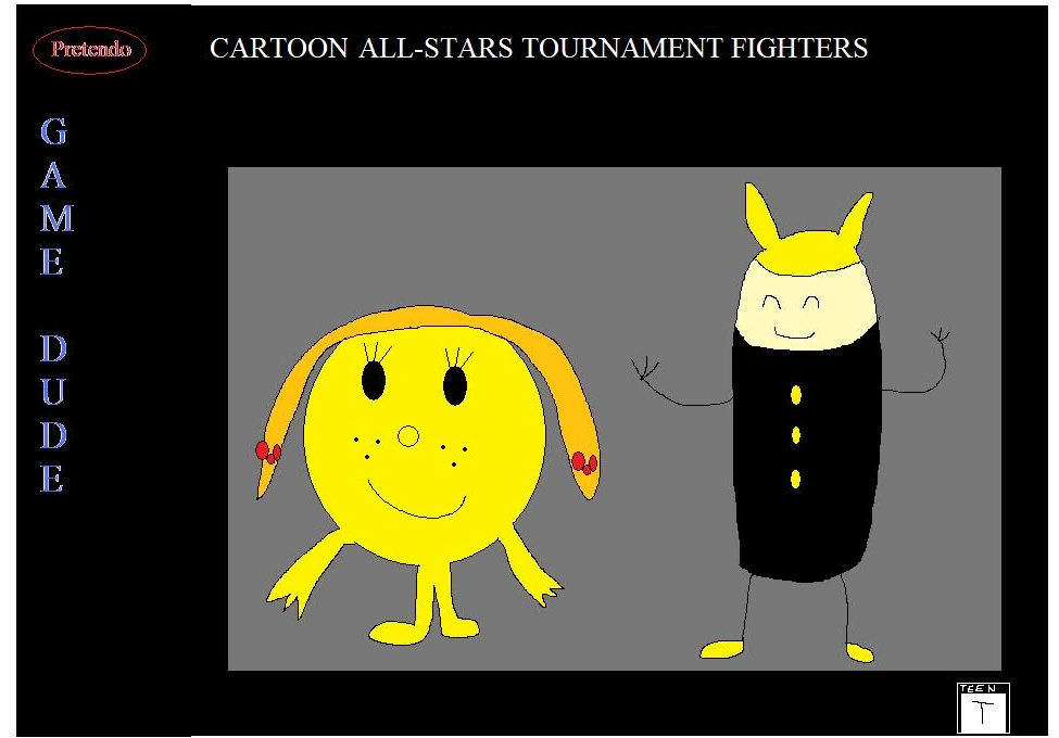 Cartoon All-Stars Tournament Fighters (Pretendo Game Dude)