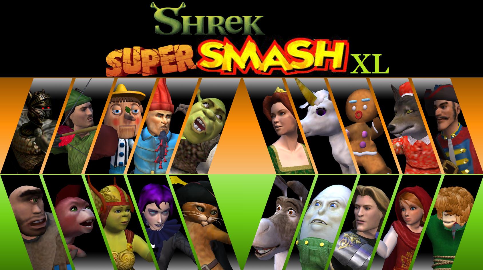 Shrek Super Smash XL