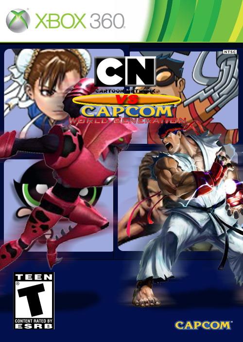 Cartoon Network Vs. Capcom: World Generation