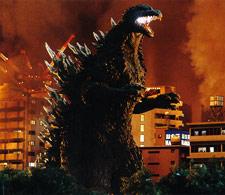 Godzilla vs Cyberbots