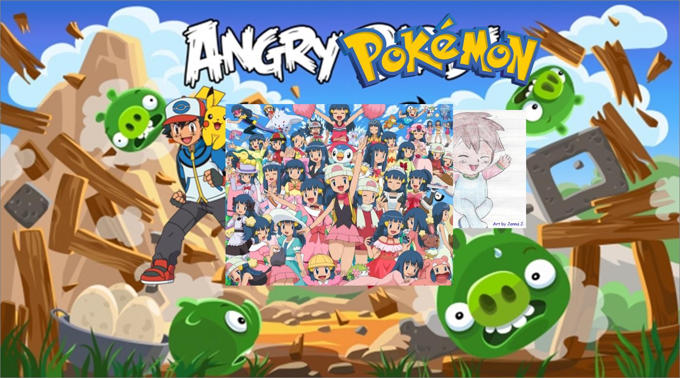 Angry Pokémon