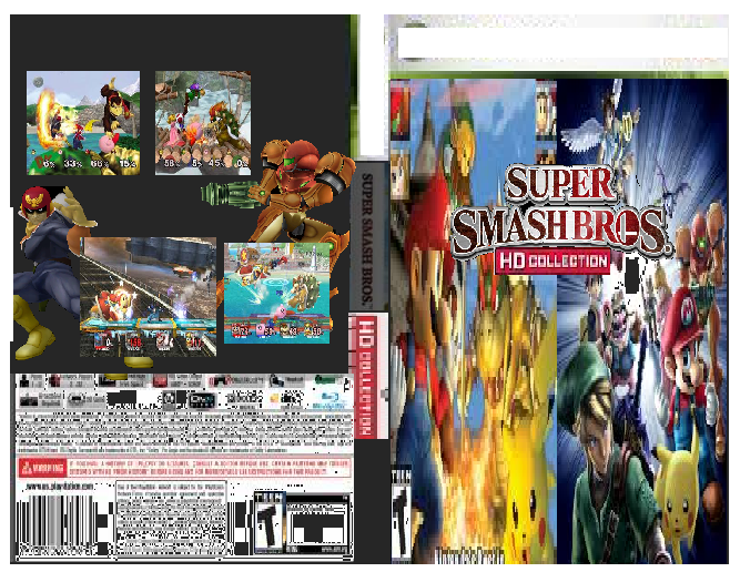 Super Smash Bros HD Collection