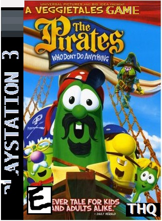 Big Idea's: The Pirates Who Don't Do Anything: A VeggieTales Game (2008 Console Game)