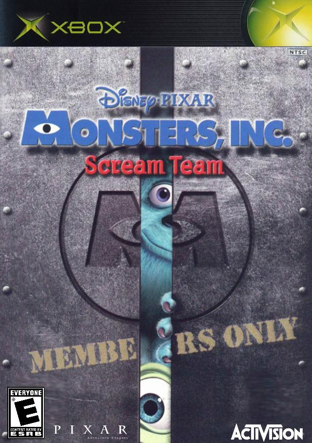 Monsters, Inc. Scream Team (Activision)