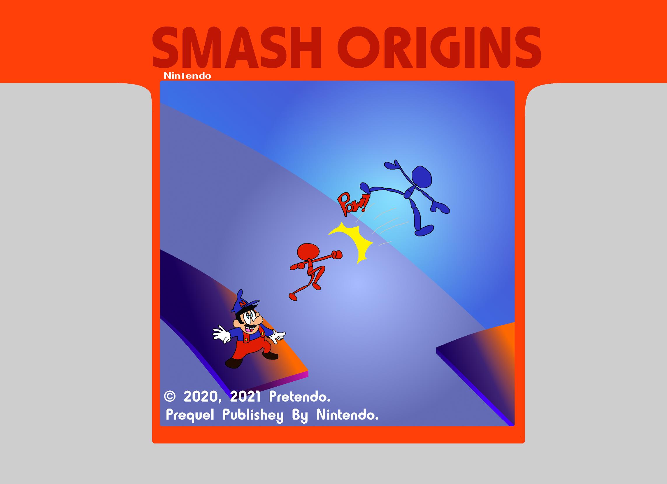 Super Smash Bros For Atari 2600
