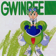 GwinBee and Herb (Mint)
